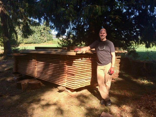 Sawn Red Cedar Boards