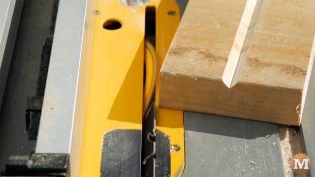 firewood jig - cut v-groove