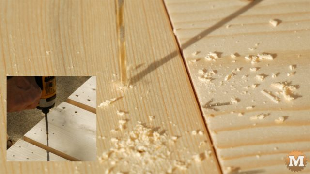 MAN about TOOLS - firewood jig - pre-drill sides for screws