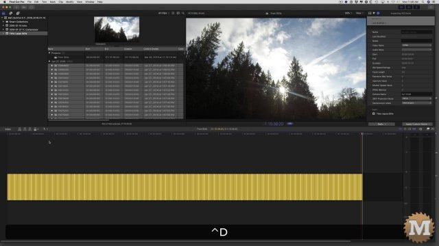 time lapse apple compressor action camera fcpx