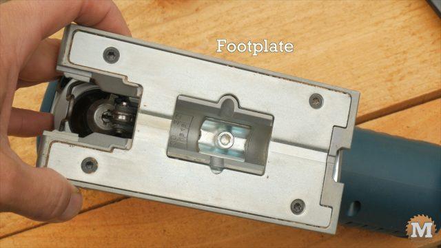 Bosch Jigsaw Review - Adjustable footplate