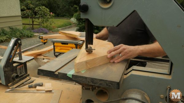 band saw braces for shed