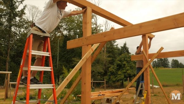 Front one too - Timber Frame Gazebo