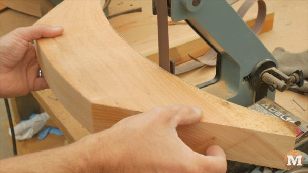 """A little smoothing on a 1\"""" sanding belt of a hobby sander"""