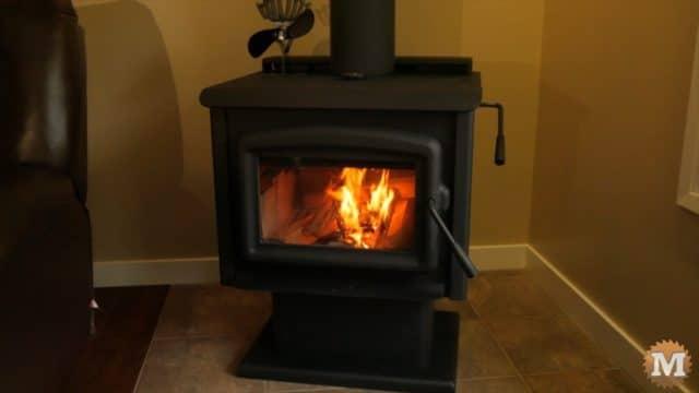 High Efficiency Catalytic Wood Stove - ash vacuum review