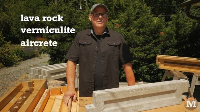 Three lightweight options covered: Lava Rock, Vermiculite, and Aircrete