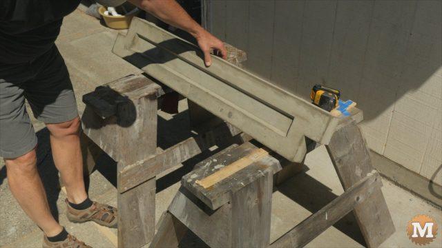 Lava Rock Lightweight Concrete Garden Box Panel