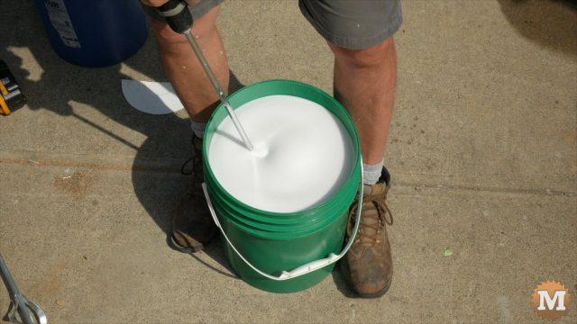Making foam without a foam generator