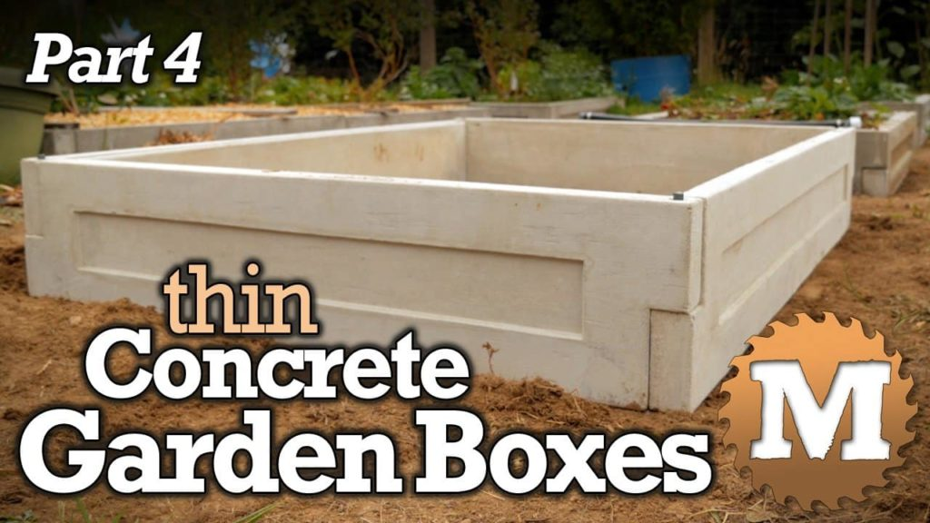 thin CSA Concrete Garden Box Plans - MAN about TOOLS