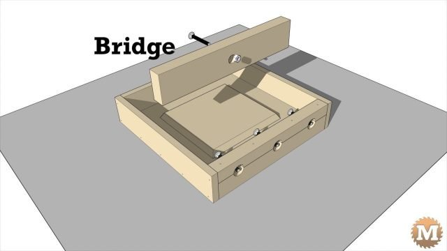Animated assembly of the outdoor concrete and red cedar garden bench