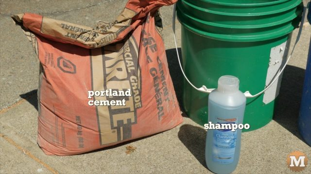 main ingredients for the aircrete