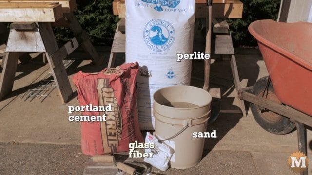 Lightweight Perlite Concrete Ingredients