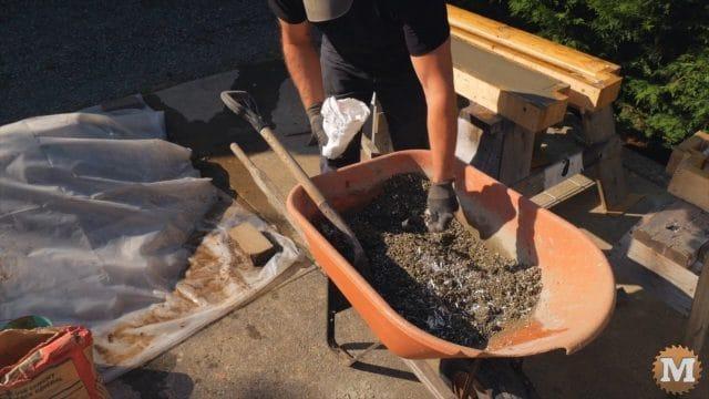 adding fibre to perlite concrete mix
