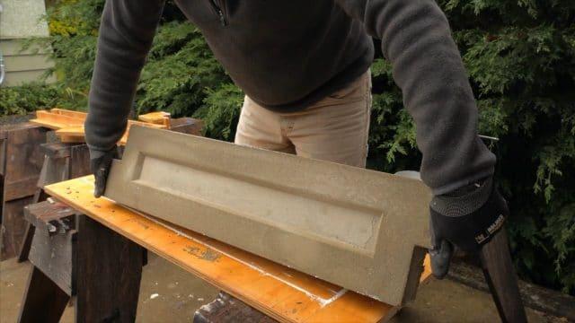 complete csa lightweight concrete garden panel