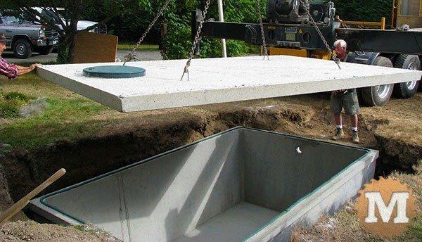 Concrete Cistern lid