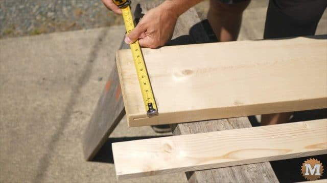 Selecting lumber to build concrete forms