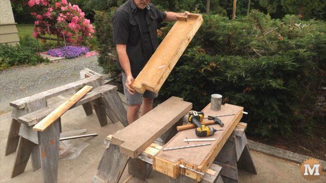 DIY Concrete Garden Box Simple Forms - Forms is clean