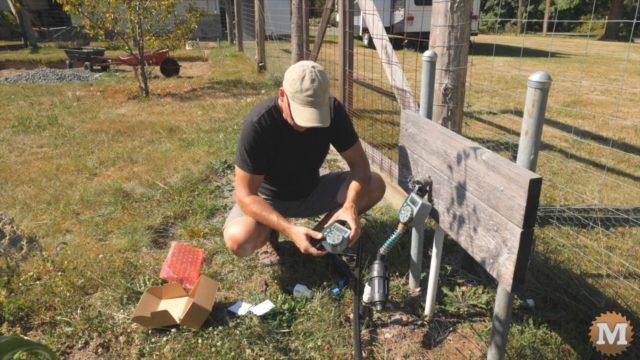 drip irrigation hose tap timer