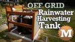 blog Off Grid Rainwater Harvesting tank Part 1 - MAN about TOOLS