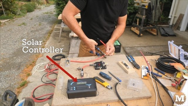 Build a control board and add the Solar Controller