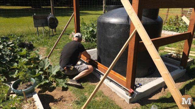 OFF GRID Rainwater Tank Part 2 .9501
