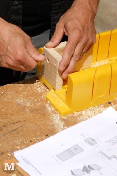 DIY Concrete Garden Box - making the ends of the form (Sheet Editor)
