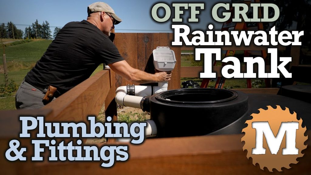 Off Grid Rainwater Harvesting tank Part 3 V2