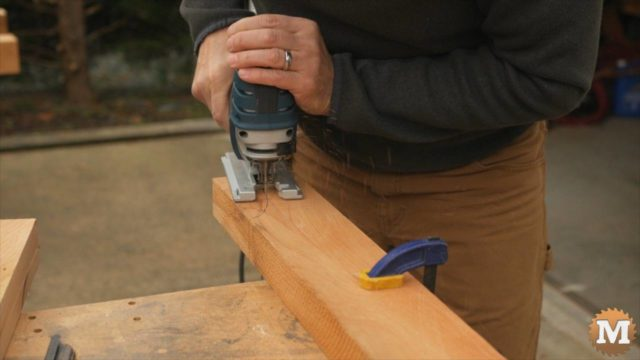 Make a Potting Bench with a Cast Concrete Countertop and Galvanized Corrugated Metal Roof.