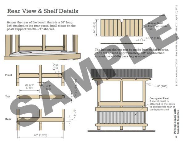 Potting Bench Sample 05