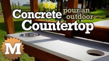 YouTube Thumbnail Concrete Countertop Potting Bench V1